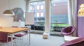 Spreek-/werkkamer, Heide - Pand010 (Rotterdam)