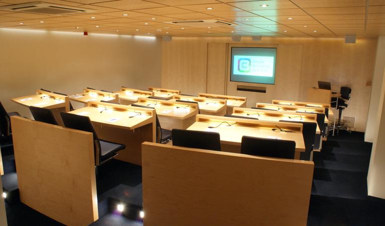 Auditorium Trainingsruimte Colorbc Amstelveen Deskbookers